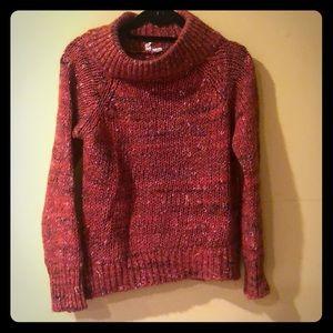 Orange sweater from Anthropologie (Moth)